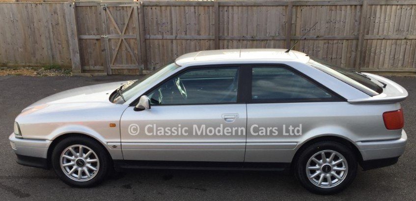 1994 Audi Coupe 2.6 E Manual - FSH, Low Miles SOLD (picture 4 of 6)