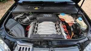 Immaculate V8 S4 with exhaust upgrade & FSH