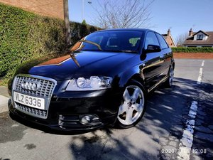 2008 Audi A3 S Line 2.0 TDI FSH Leather