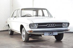 AUDI 100 LS WHITE SALOON 1970 1.8 4DR