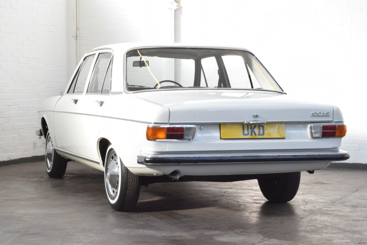 AUDI 100 LS WHITE SALOON 1970 1.8 4DR For Sale   Car And Classic