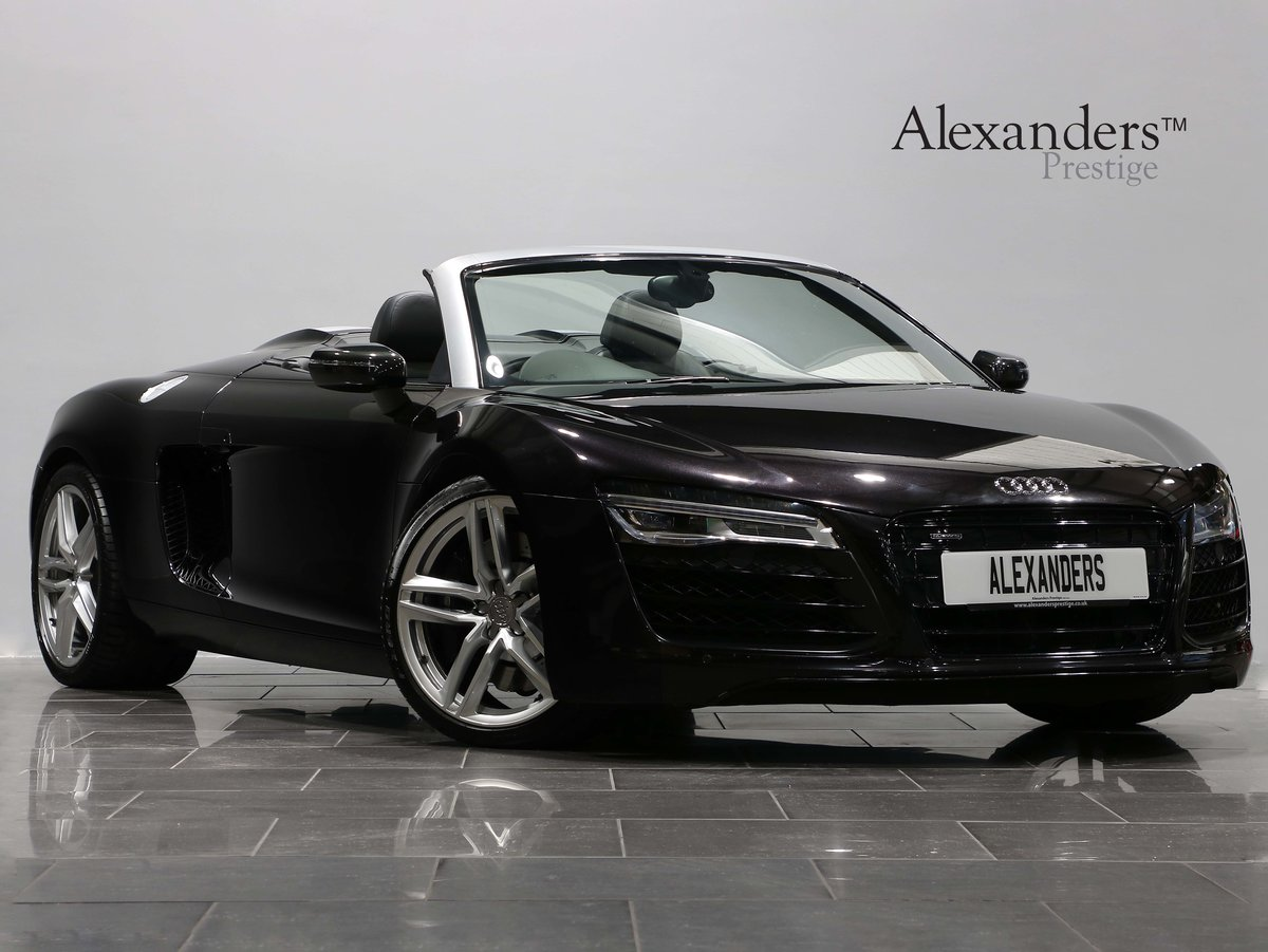 2013 13 63 AUDI R8 4.2 V8 SPYDER AUTO For Sale (picture 1 of 6)