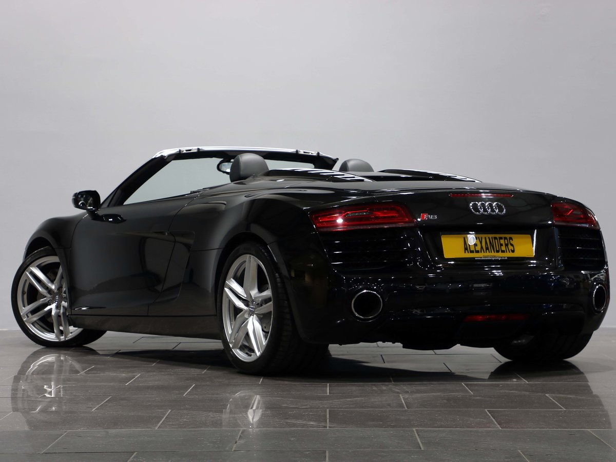 2013 13 63 AUDI R8 4.2 V8 SPYDER AUTO For Sale (picture 3 of 6)