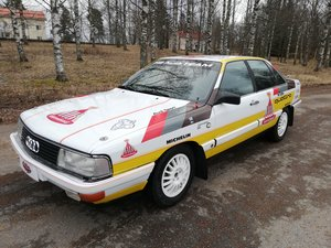 1987 Audi 200 Quattro Turbo FIA rally car SOLD