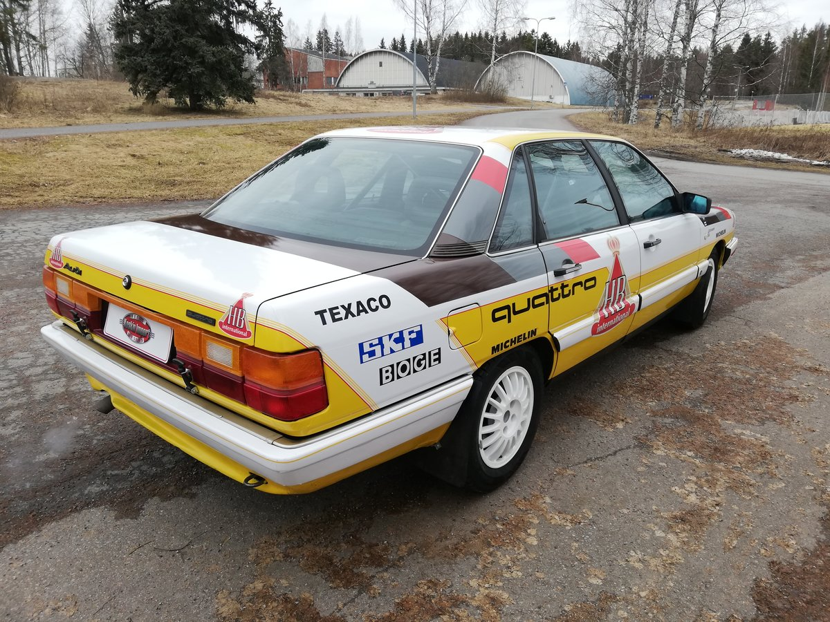 1987 Audi 200 Quattro Turbo FIA rally car SOLD (picture 2 of 6)