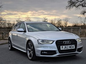 2012 Audi A4 2.0 TDI 177 Black Edition 5dr