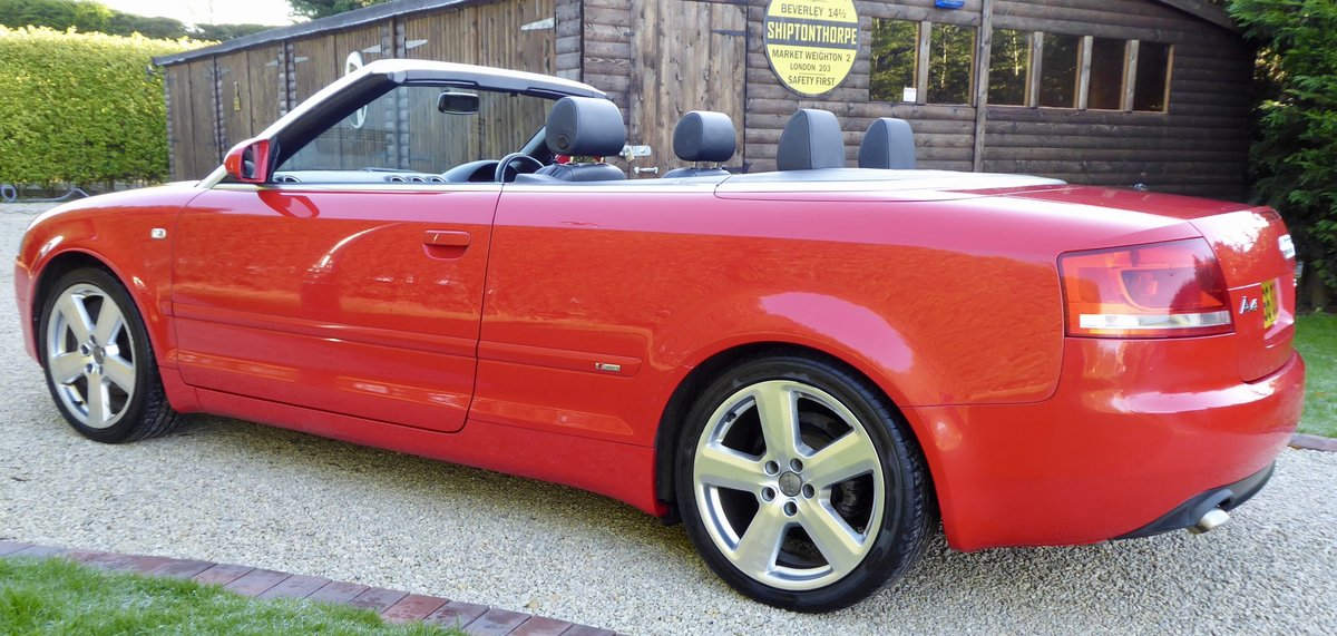 2007 Audi A4 2.0 TDi S-Line Convertible SOLD (picture 1 of 6)