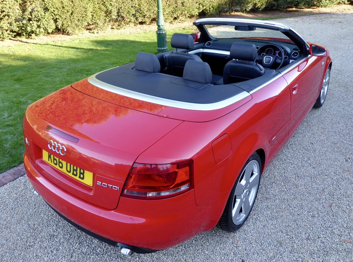 2007 Audi A4 2.0 TDi S-Line Convertible SOLD (picture 2 of 6)
