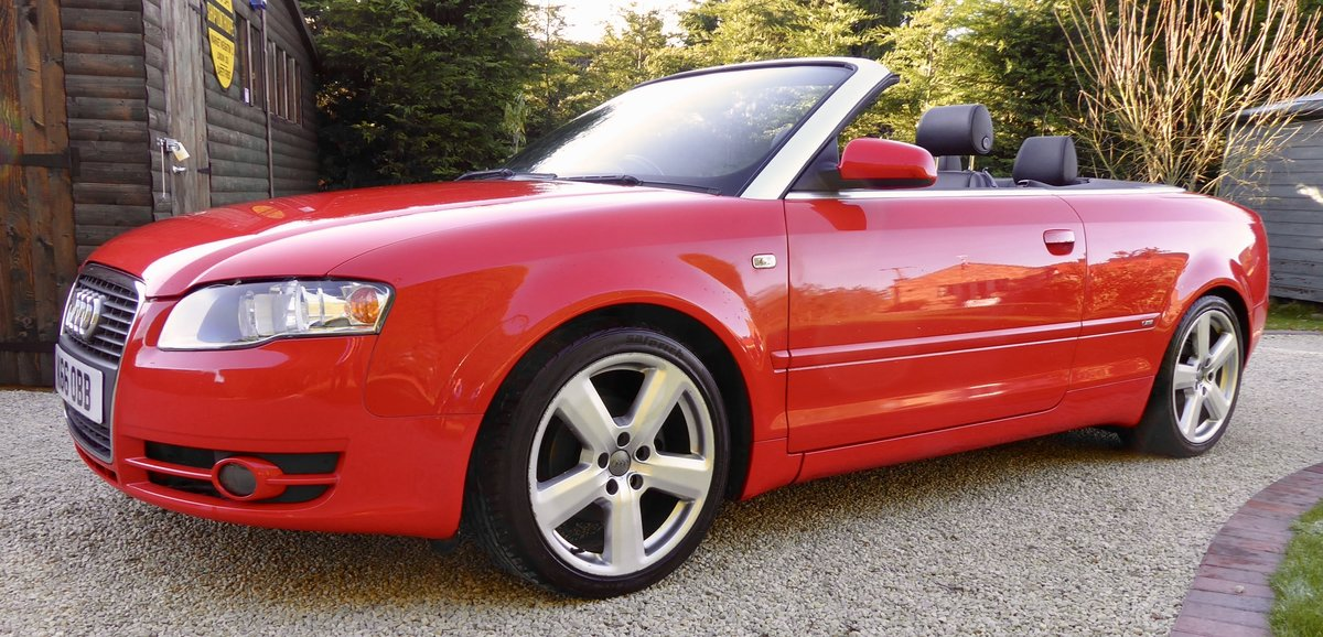 2007 Audi A4 2.0 TDi S-Line Convertible SOLD (picture 3 of 6)