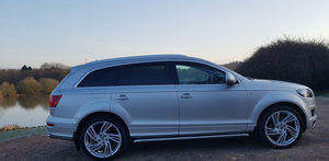 2009 Audi Q7 S Line 7 seats - 31,800mls For Sale