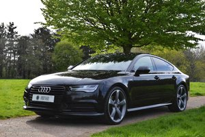2015 Big Spec - Audi A7 Sportback Black Edition - Nav+BOSE+HUD For Sale