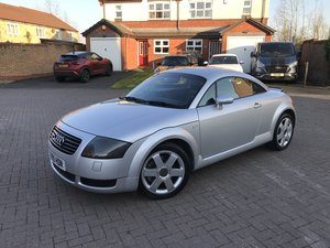 2001 Audi TT 225bhp*Quattro*LOW MILES*3 Owners(1 for 17Yes)*