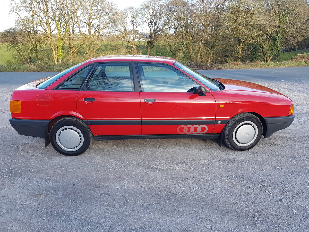 1988 Stunning Original Audi 80 For Sale (picture 1 of 6)