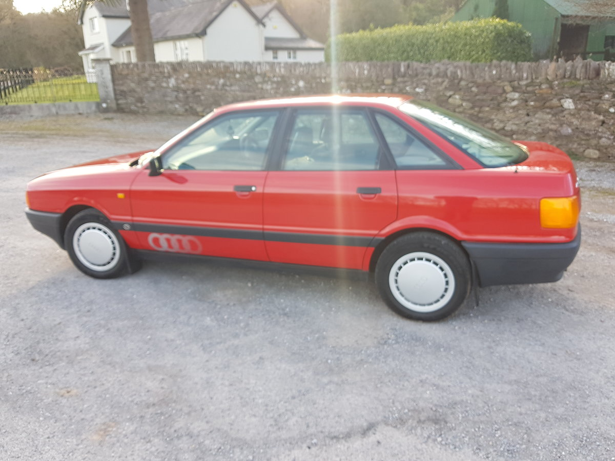 1988 Stunning Original Audi 80 For Sale (picture 2 of 6)