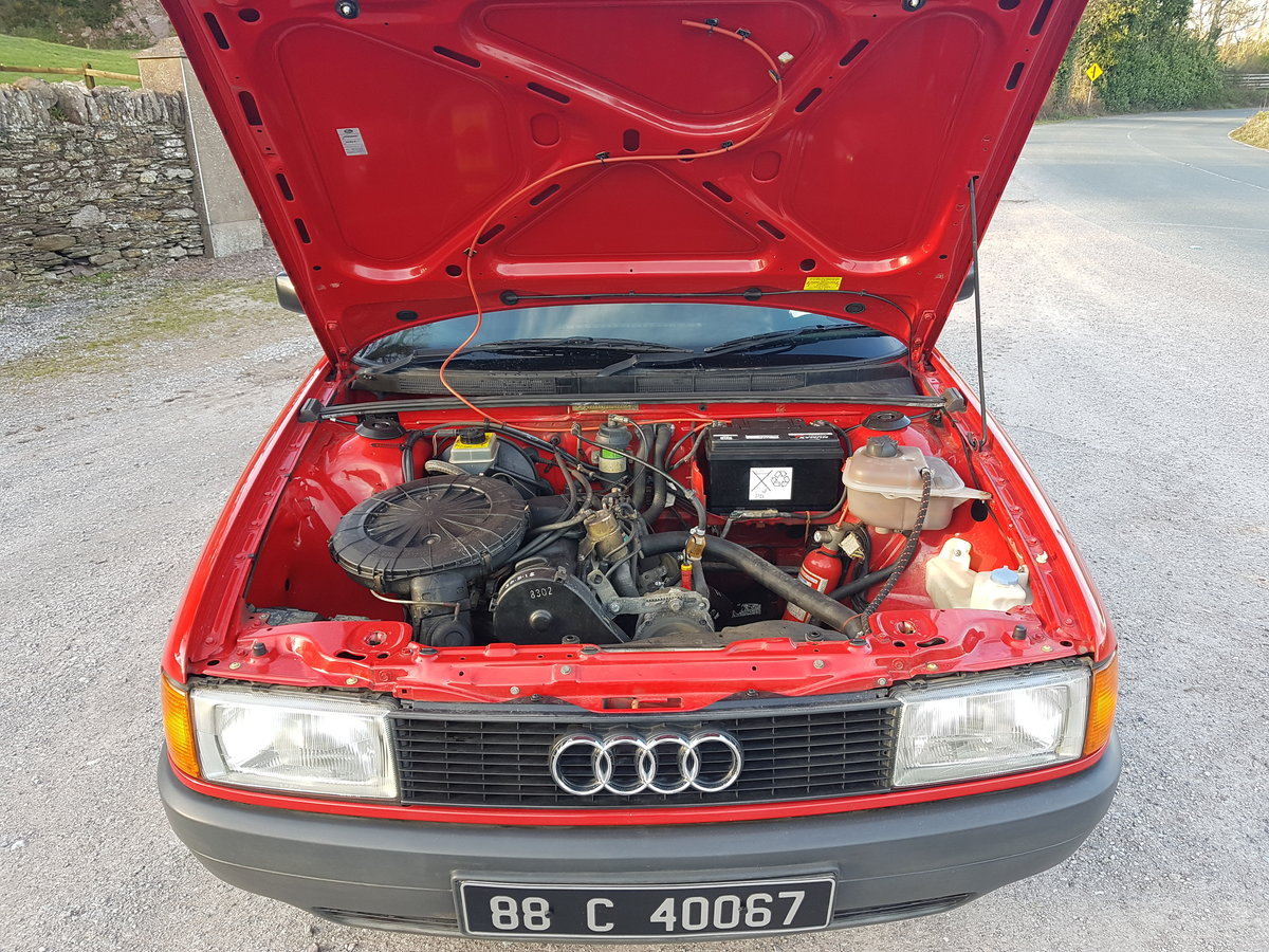 1988 Stunning Original Audi 80 For Sale (picture 5 of 6)