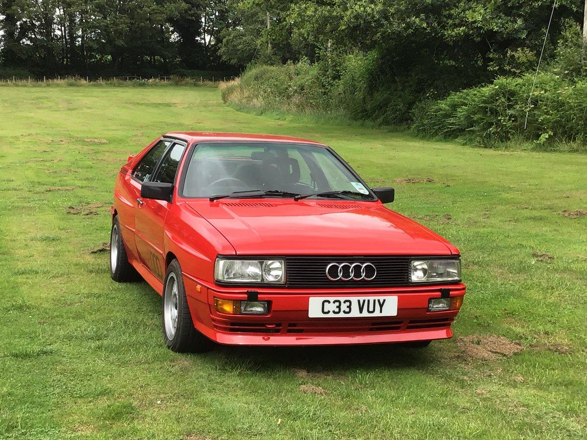 1986 Audi Quattro turbo For Sale | Car And Classic