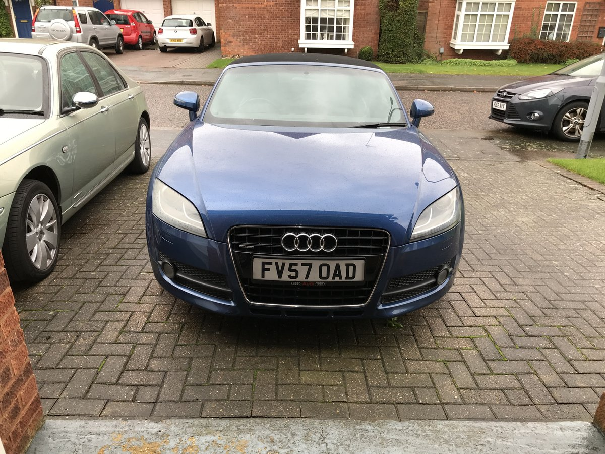 2008 Audi TT Convertible 3.2 Lovely condition For Sale (picture 2 of 6)