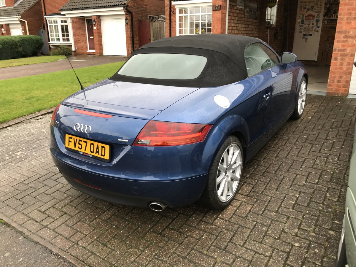 2008 Audi TT Convertible 3.2 Lovely condition For Sale (picture 3 of 6)