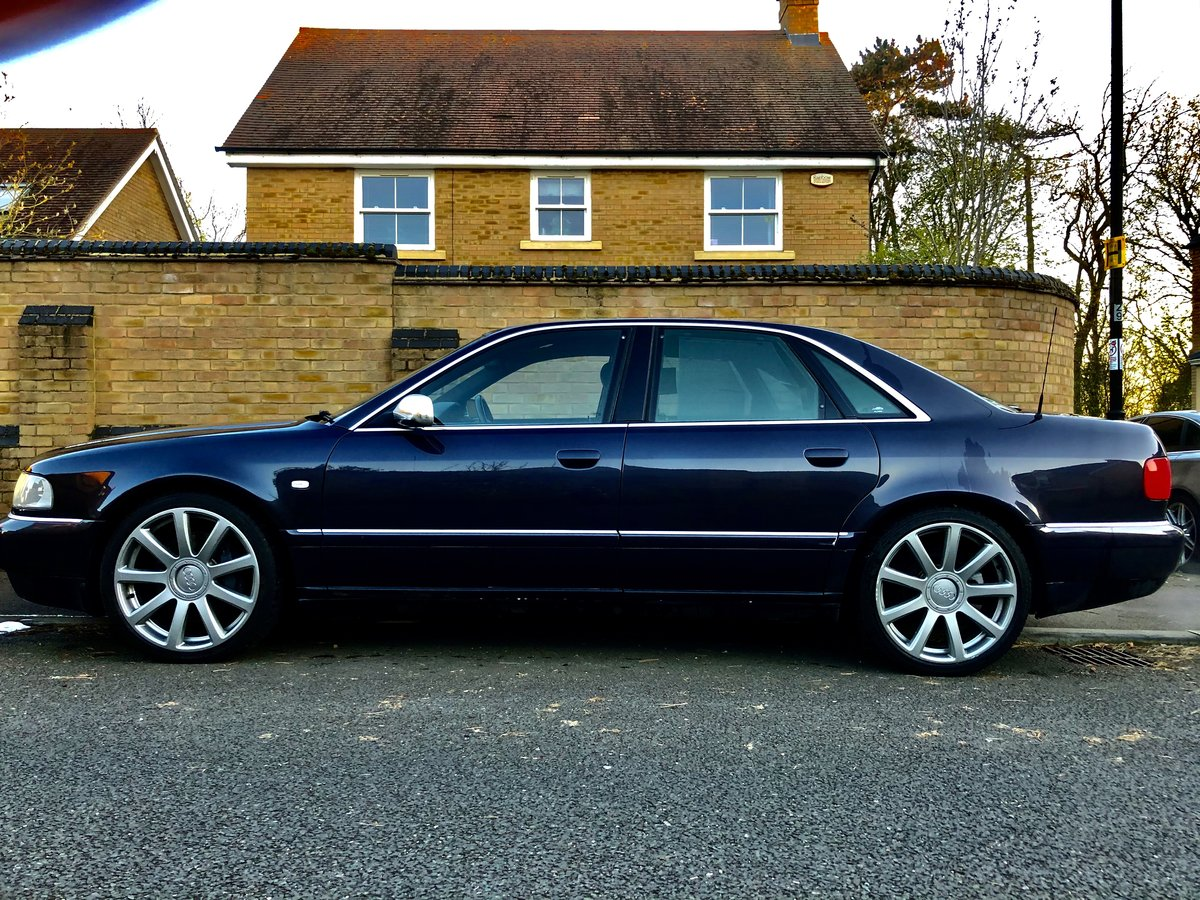 Great Condition S8 Final Edition 2002 Dark Grey For Sale (picture 3 of 6)