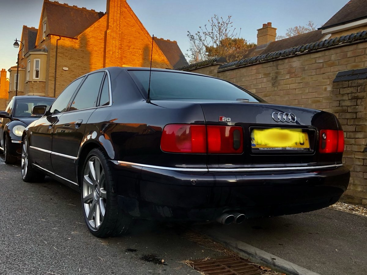 Great Condition S8 Final Edition 2002 Dark Grey For Sale (picture 6 of 6)
