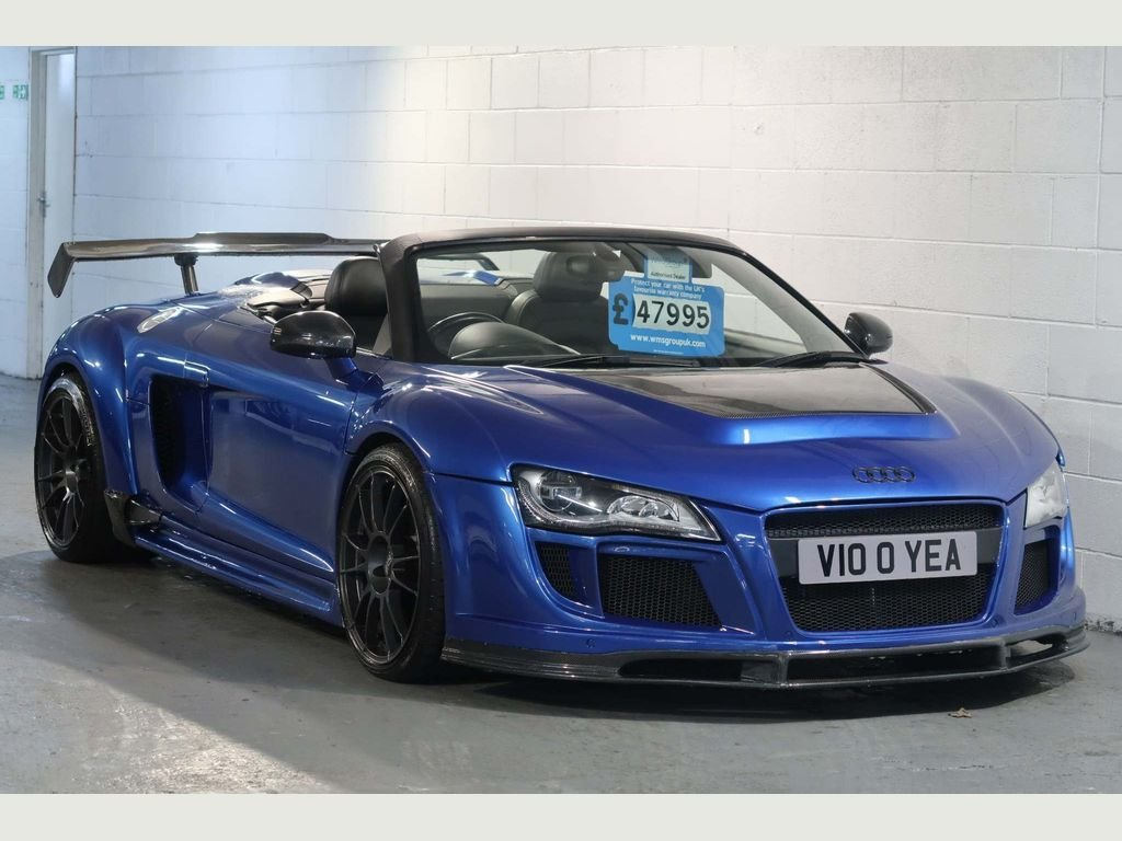 2010 Audi R8 5.2 Spyder Quattro Show Car + 620BHP For Sale (picture 1 of 6)