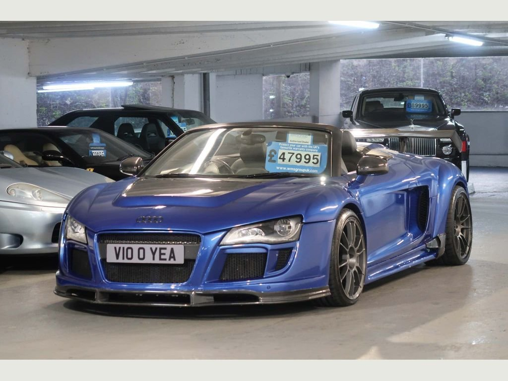 2010 Audi R8 5.2 Spyder Quattro Show Car + 620BHP For Sale (picture 4 of 6)