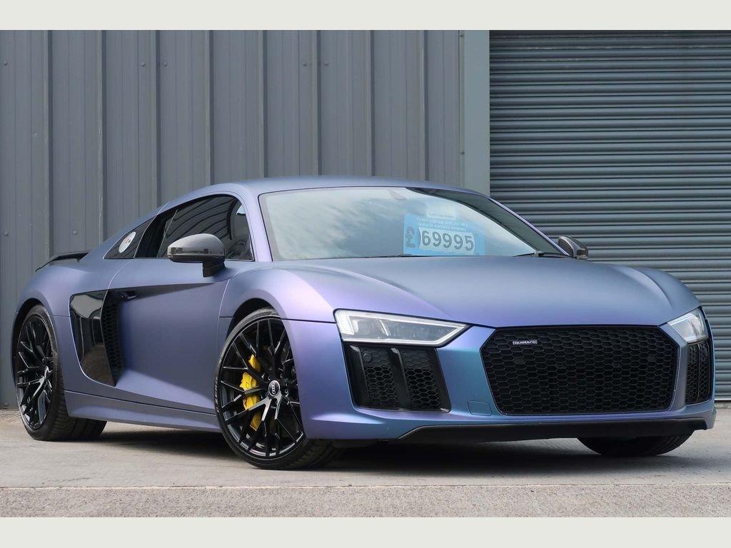 2016 Audi R8 5.2 FSI V10 Plus S Tronic quattro (s/s) For Sale (picture 1 of 6)