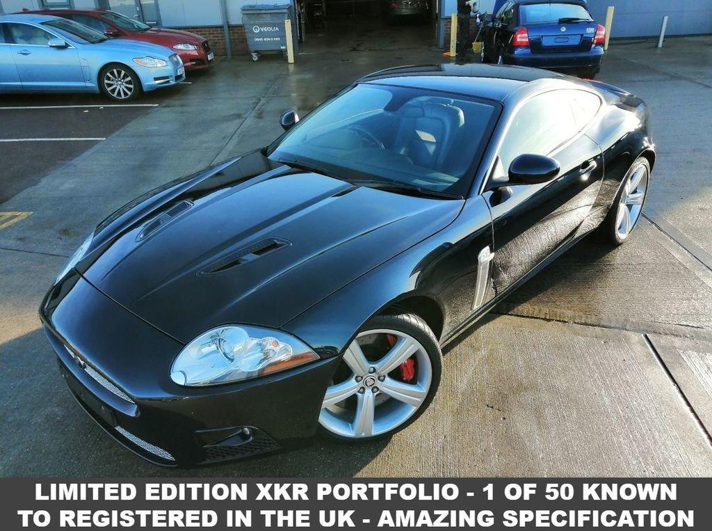 2007 57 JAGUAR XK 4.2 XKR PORTFOLIO LTD EDITION 2d AUTO 416  For Sale (picture 1 of 6)