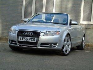 2006 Audi A4 Cabriolet 3.0 TDI S line Cabriolet Tiptronic quattro