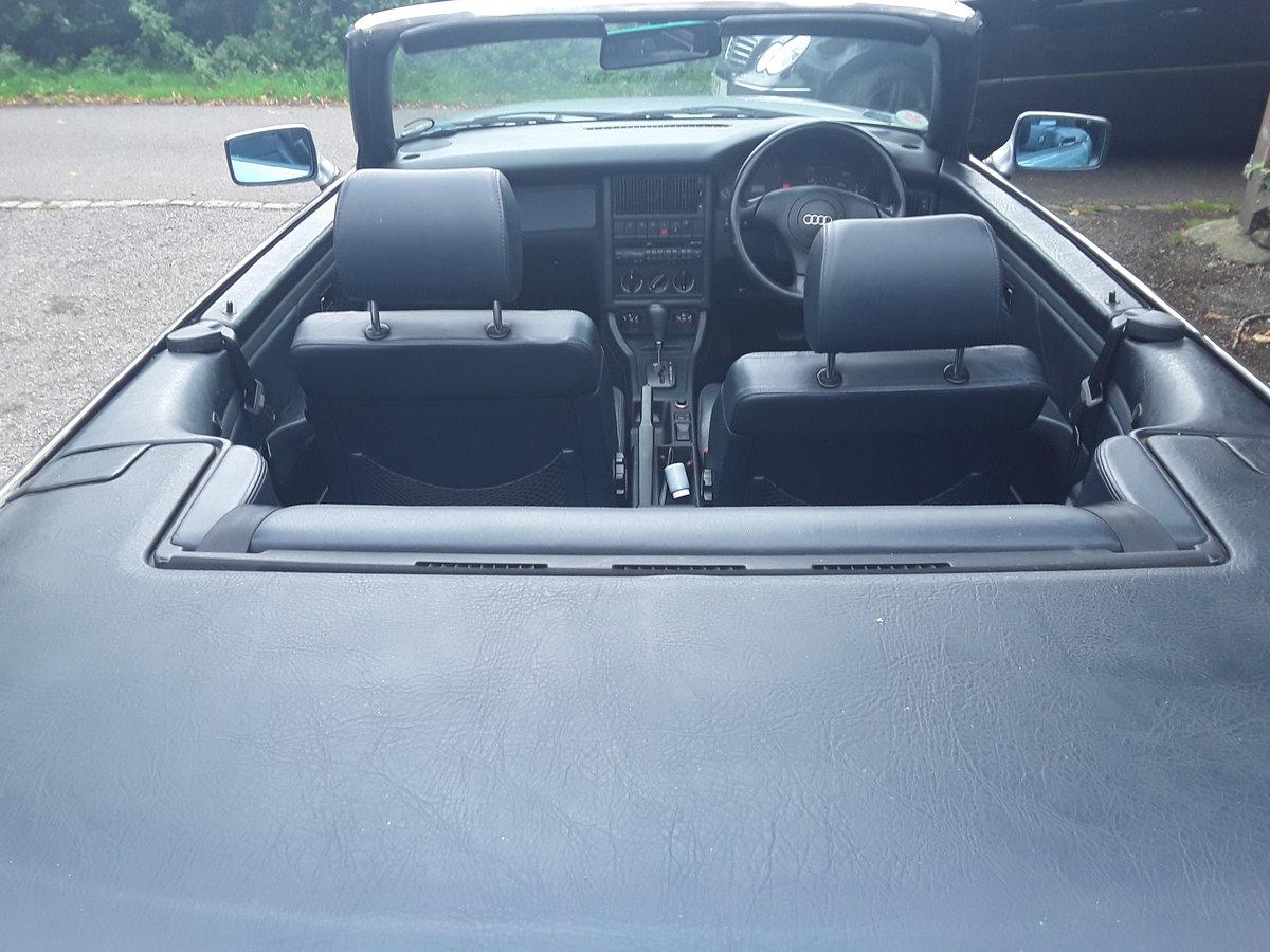 1999 Audi 80 cabriolet  2.8 v6 auto final edition auto SOLD (picture 6 of 6)