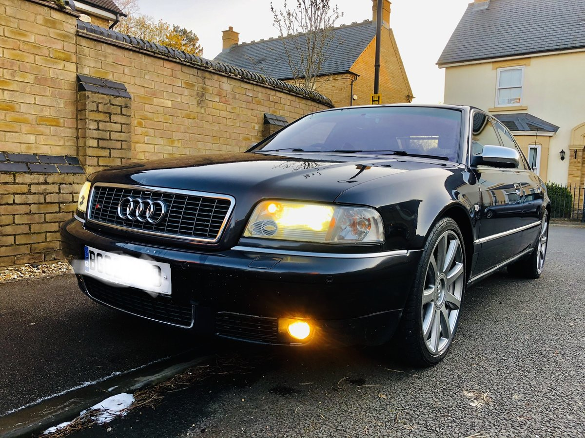 Great Condition S8 Final Edition 2002 Dark Grey For Sale (picture 1 of 6)