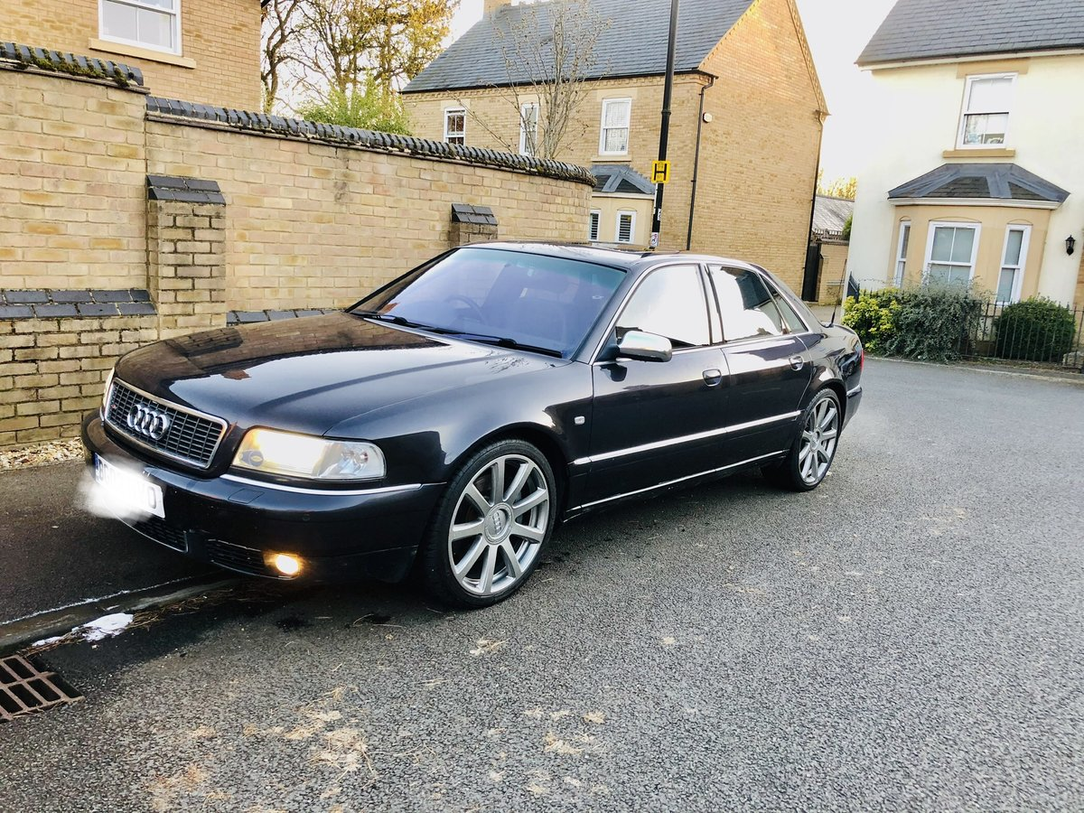 Great Condition S8 Final Edition 2002 Dark Grey For Sale (picture 5 of 6)