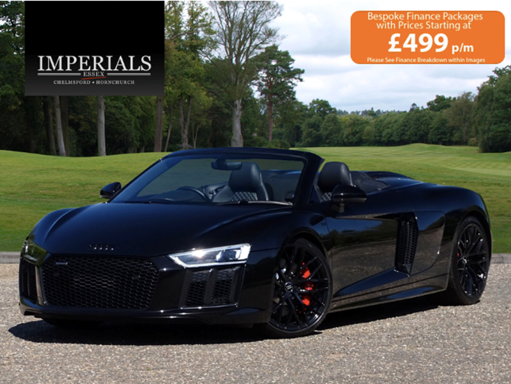 2017 Audi  R8  SPYDER V10 SPORT PLUS PACK QUATTRO  85,948 For Sale (picture 1 of 24)