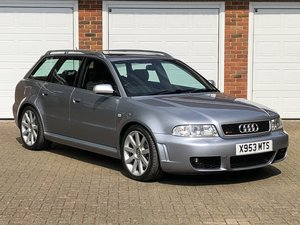 2000 AUDI RS4 Avant Quattro 2.7 (B5) FSH, Original Car For Sale