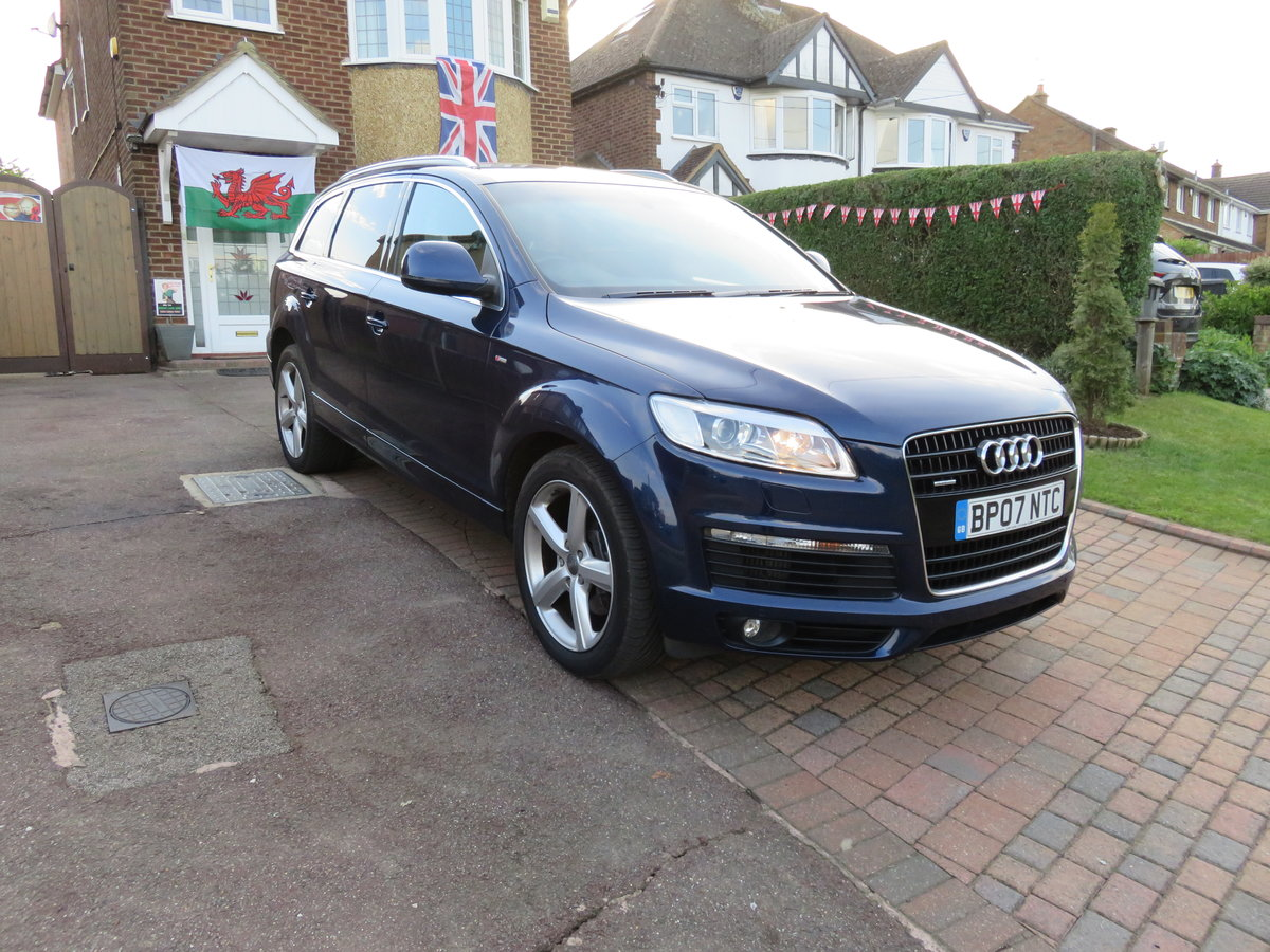 Audi Q7 4.2 TDi S-Line 2007 SOLD (picture 1 of 6)