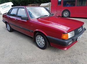 1985 AUDI 80 AUTO 55K SH