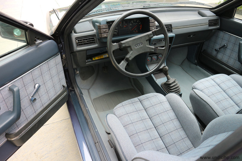 1982 Audi Coupé GT 5S - 1st owner - low mileage For Sale (picture 6 of 6)