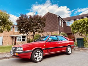1986 Audi GT COUPE 5 cylinders same shape as UR Quattro