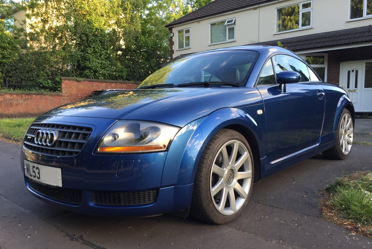 2003 Audi TT 225 Quattro 1 Lady owner FSH 53k miles For Sale (picture 2 of 6)