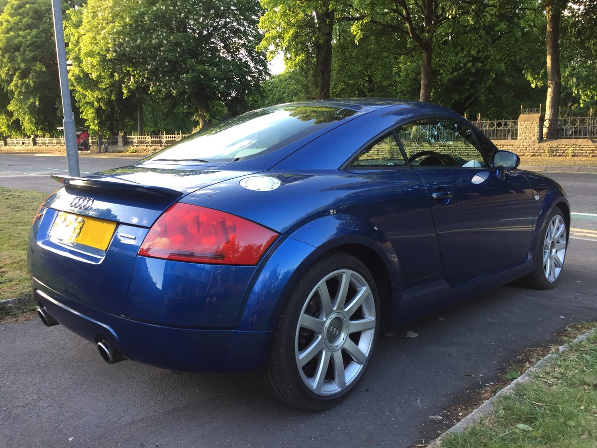 2003 Audi TT 225 Quattro 1 Lady owner FSH 53k miles For Sale (picture 3 of 6)