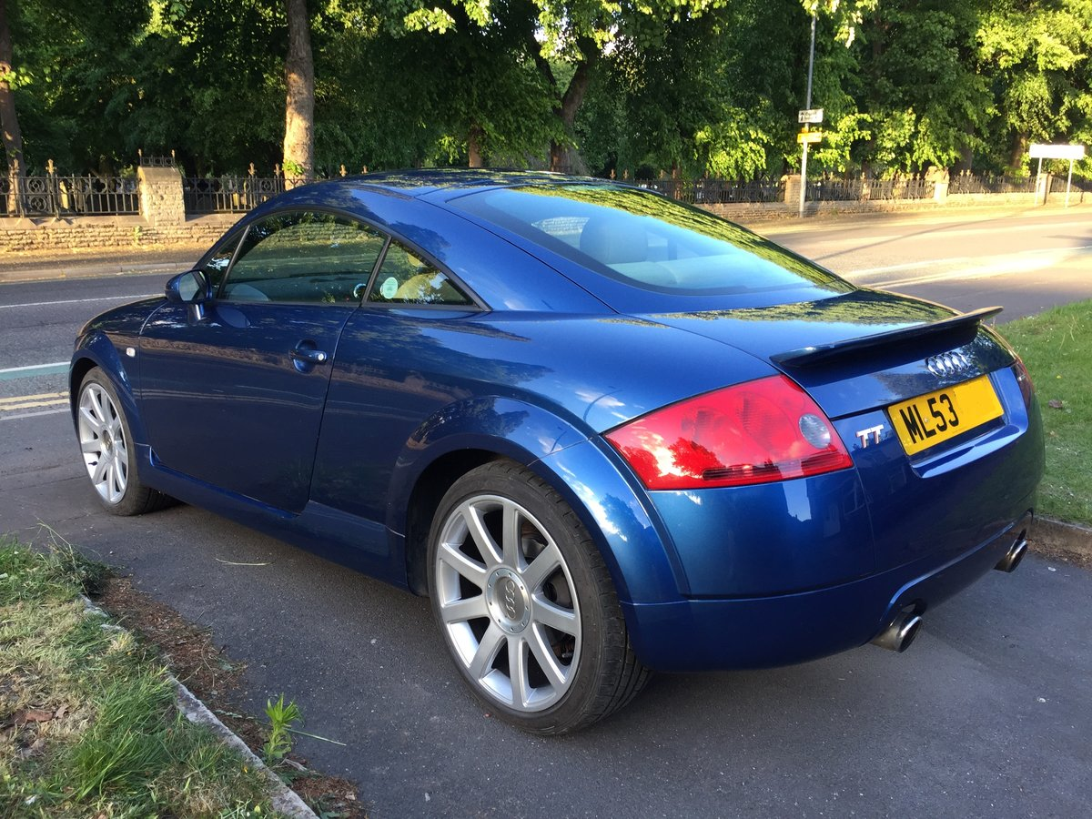 2003 Audi TT 225 Quattro 1 Lady owner FSH 53k miles For Sale (picture 4 of 6)