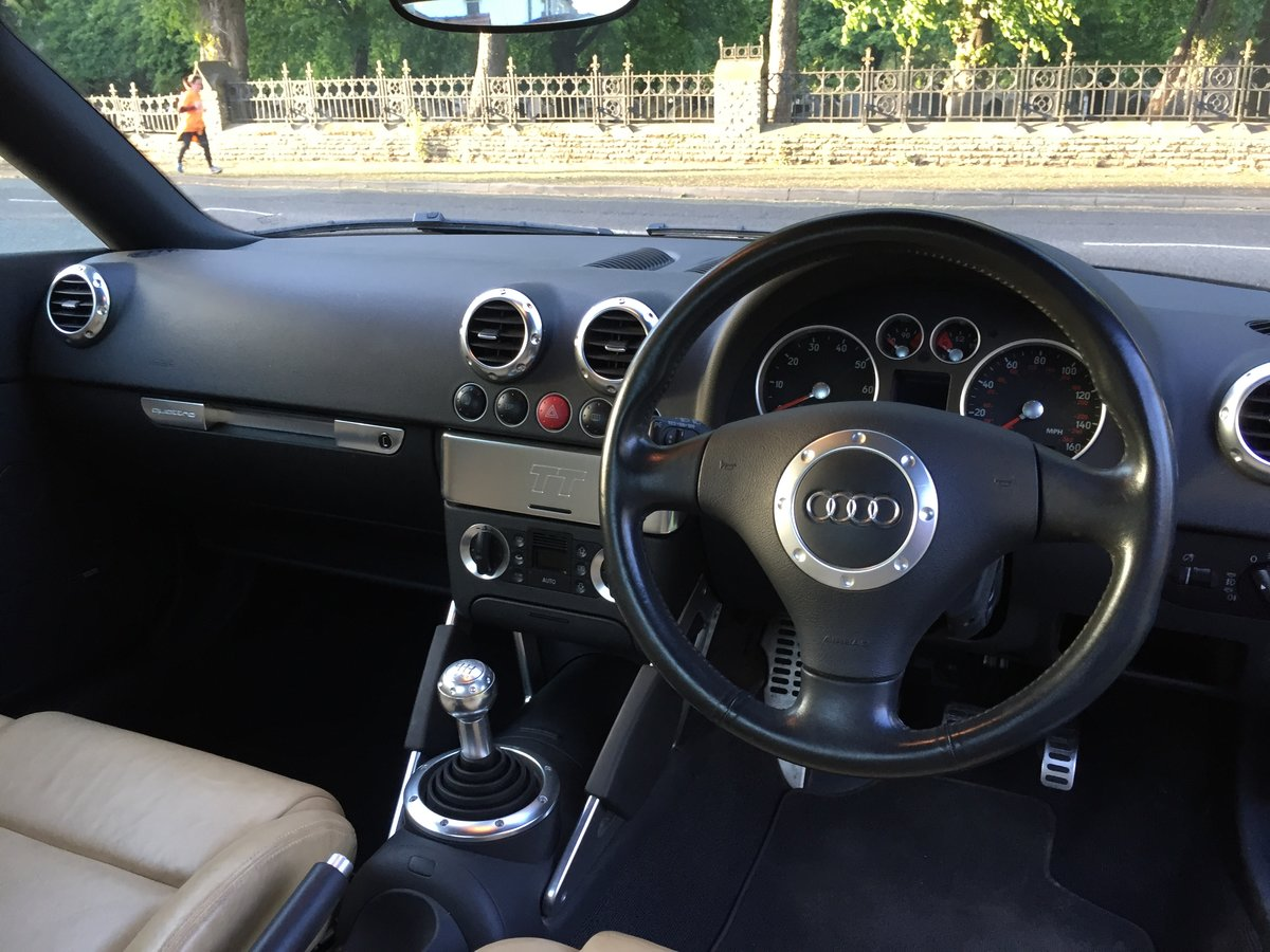 2003 Audi TT 225 Quattro 1 Lady owner FSH 53k miles For Sale (picture 5 of 6)