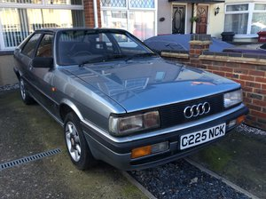 1986 Audi Coupe 2.0 GT ,Auto, /C ,For restoration o