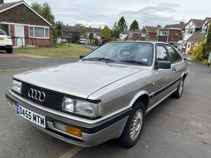 1986 Audi coupe gt 2.2 5 cylinder