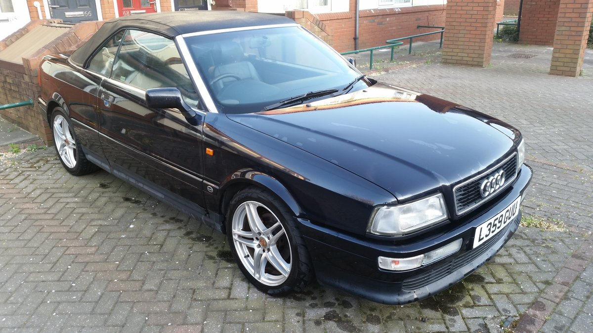 1993 Audi coupe cabriolet 2.3 petrol long Mot For Sale (picture 1 of 6)