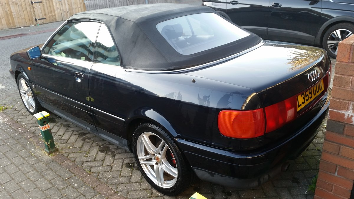 1993 Audi coupe cabriolet 2.3 petrol long Mot For Sale (picture 3 of 6)