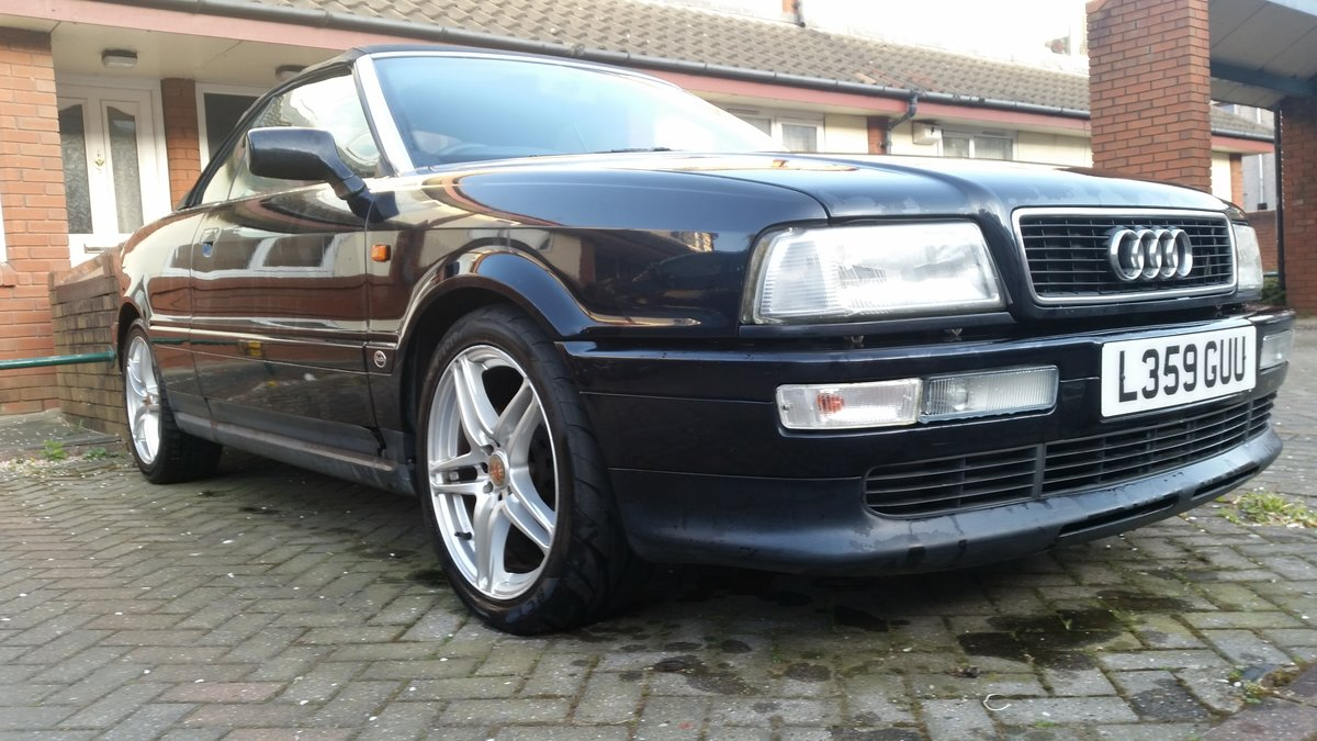 1993 Audi coupe cabriolet 2.3 petrol long Mot For Sale (picture 6 of 6)