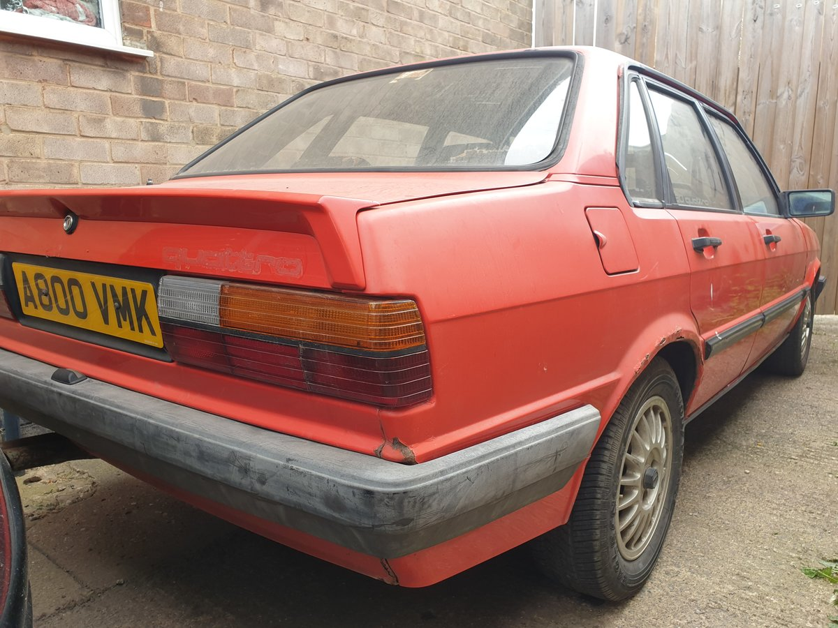 1983 Audi 80 Quattro For Sale (picture 1 of 6)