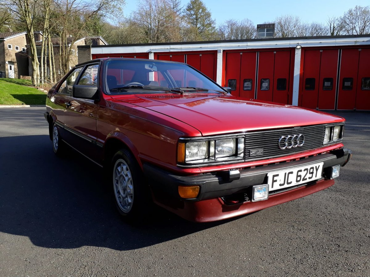 1982 Superb Audi Coupe GT5S For Sale (picture 1 of 6)