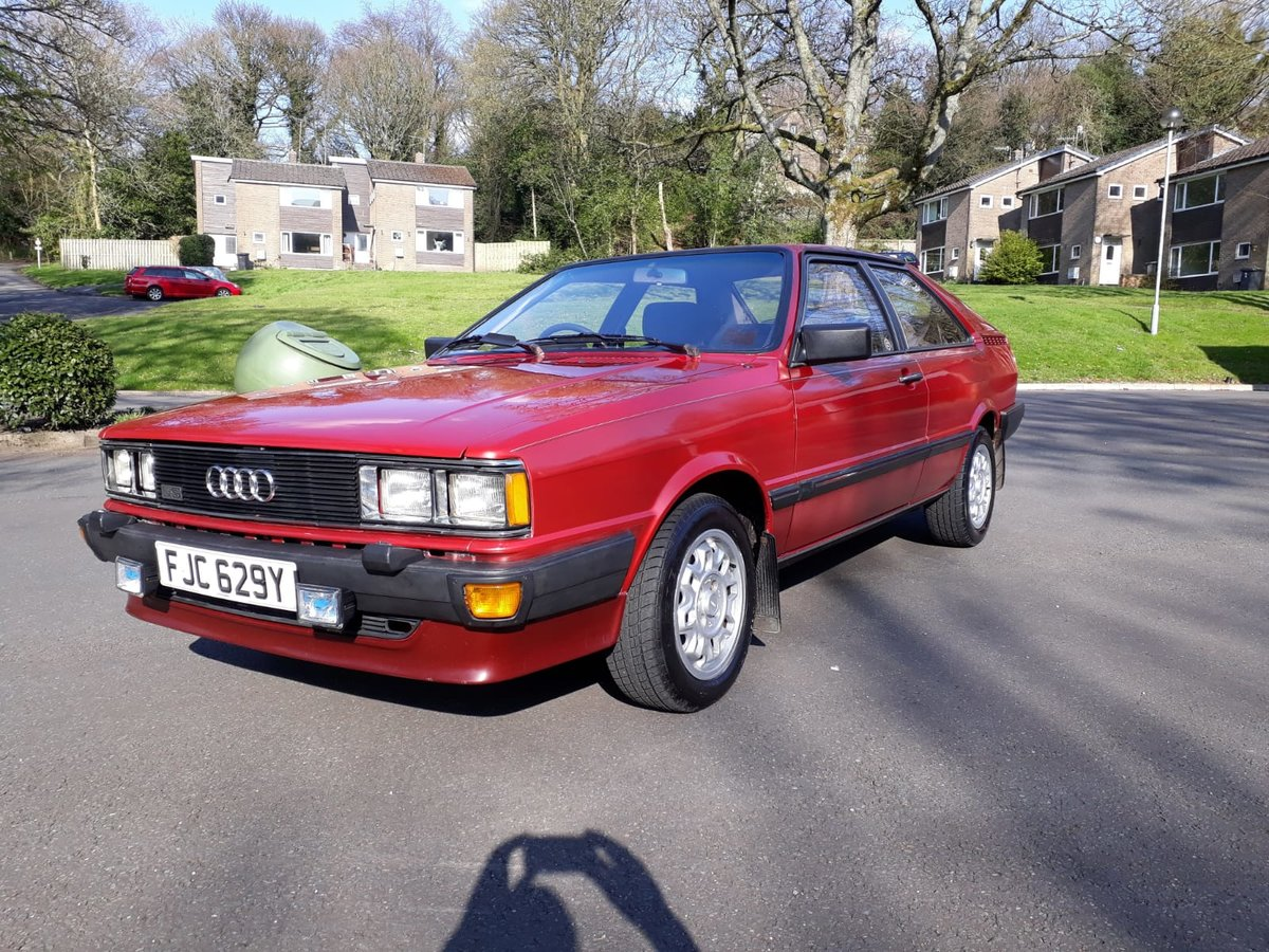 1982 Superb Audi Coupe GT5S For Sale (picture 4 of 6)